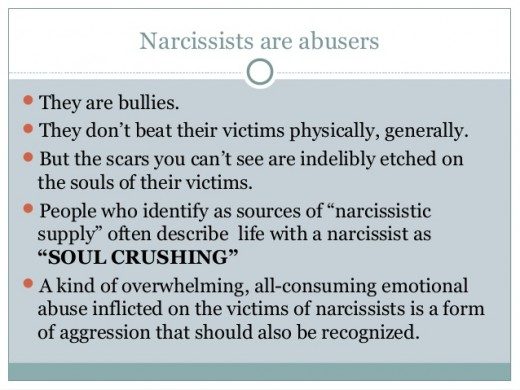 Although we understand that a Narcissist has some serious issues, the people who love and deal with them often end up with serious problems as a result.