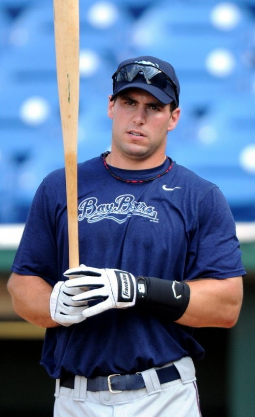 Paul Goldschmidt with the Mobile BayBears.