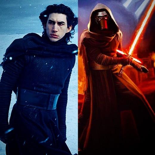 Ben Solo or Kylo Ren