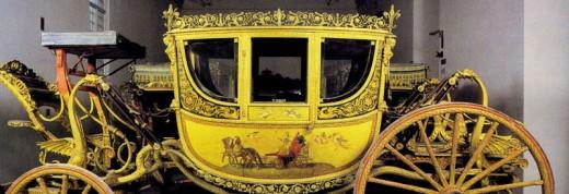 Ferdinando III of Lorraine's carriage - Museum in Florence, Italy