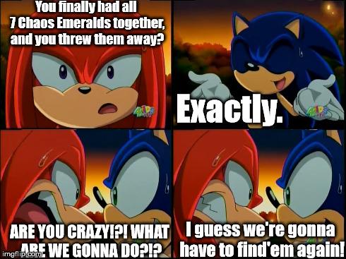 Dammit Sonic