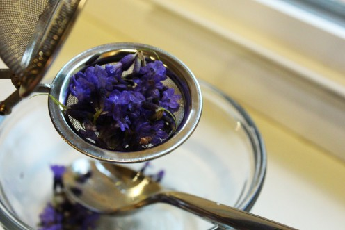 Lavender tea is so soothing that you'll be feeling sleepy in no time!