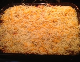Top with cheeses