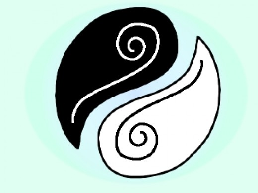 Yin and Yang symbolize Balance, which is a huge part of Tai Chi