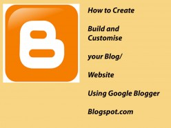 How to create and build a website | how to customise your website with google blogger