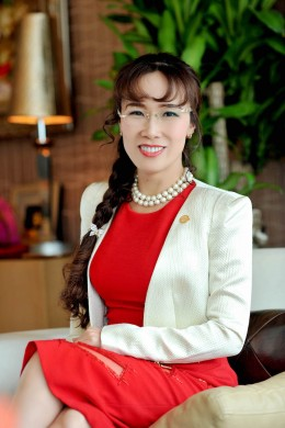 Vietnam's first billionaire woman