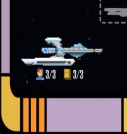 Star Trek Trexels Skirmish Ships