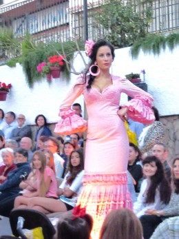 flamenco fashion parade in my hometown