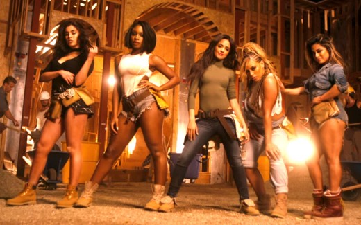 Fifth Harmony in the video Work from Home
