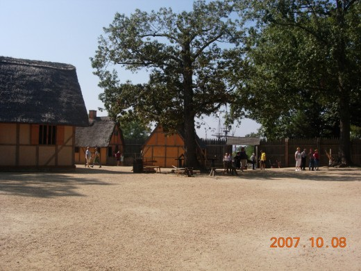 Jamestown Historical Center, October 2007.