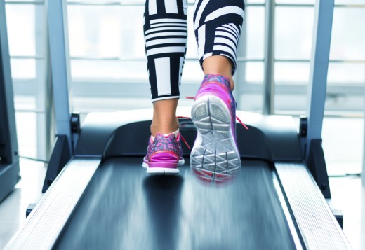 If overweight, the body's postural misalignment will get worse on a treadmill.