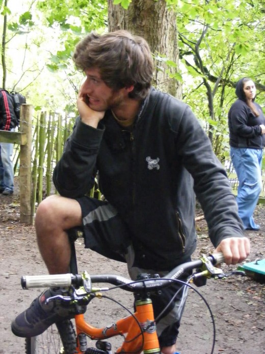 Guy Martin riding motorbikes and other speed vehicles even though he like the other two knows this can be harmful.