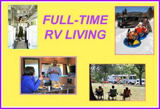 Millions of people live year round in their recreational vehicles and love doing it!