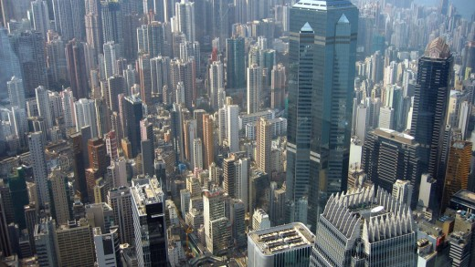 Megacities consume huge amounts of energy daily that heat up the planet.