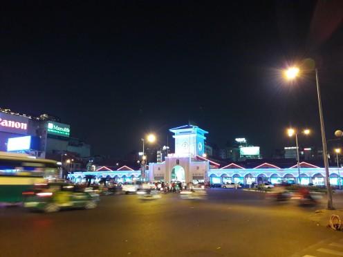 Ben Thanh Market from afar