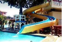 Must have a water slide. - Check