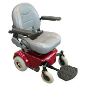This is an electric wheelchair