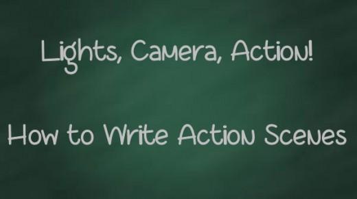 Writing action scenes in novels in urdu