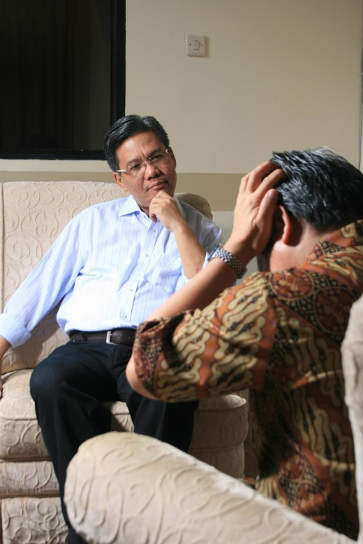 Individual counselling.