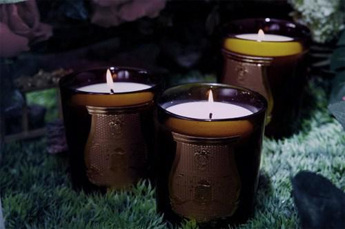Scented candles of Cire Trudon