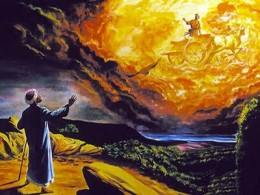 Only a few legendary figures were taken up to Heaven and exalted by God, most mortals ended up in Sheol.