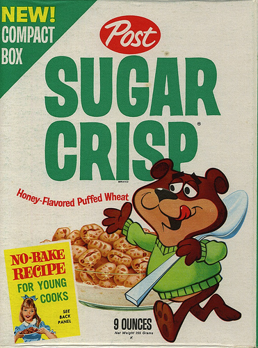 I ate this cereal when I came down with the red measles when I was a lad.