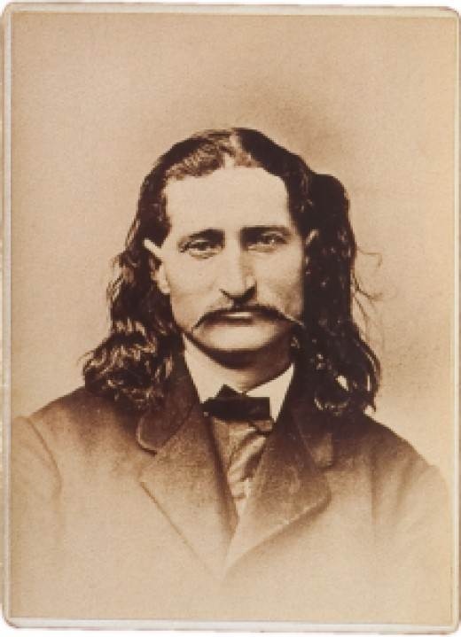 Old West icon, Wild Bill  Hickock.