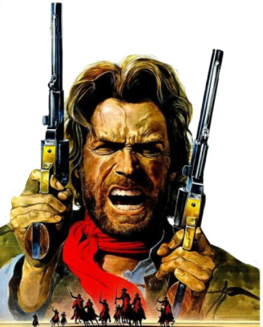 Clint Eastwood sealed his Hollywood fame by portraying The Outlaw, Josey Wales.