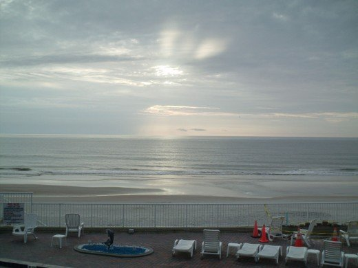 Sunrise at Daytona Beach