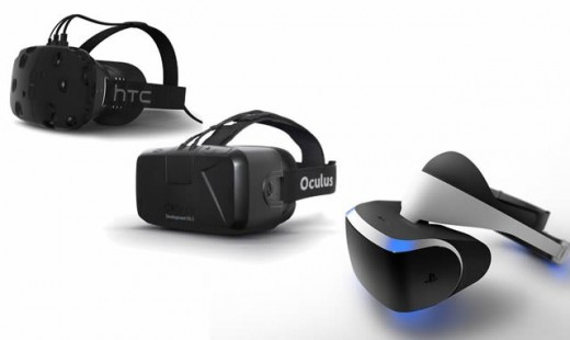 Project Morpheus vs HTC Vive vs Oculus Rift