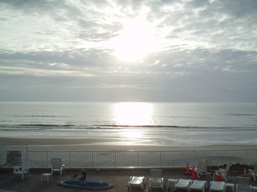 Another sunrise picture at Daytona Beach.