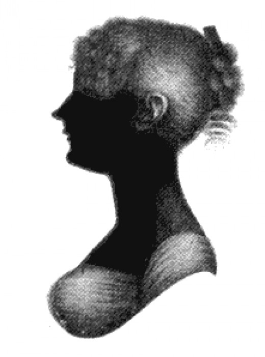 Cassandra Austen was the older sister of Jane Austen.  They were born three years apart and were the only girls in a family of eight.  Cassandra was the artist in the family and Jane was the writer.