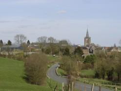 Saint-Souplet: view of the village