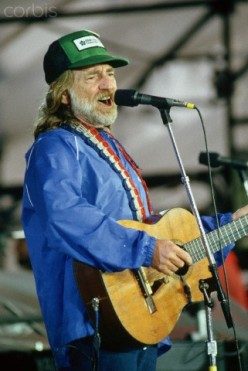 """Willie Nelson helped with the  """"Outlaw Music Movement."""""""