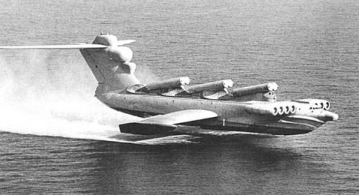 The MD-160 in flight