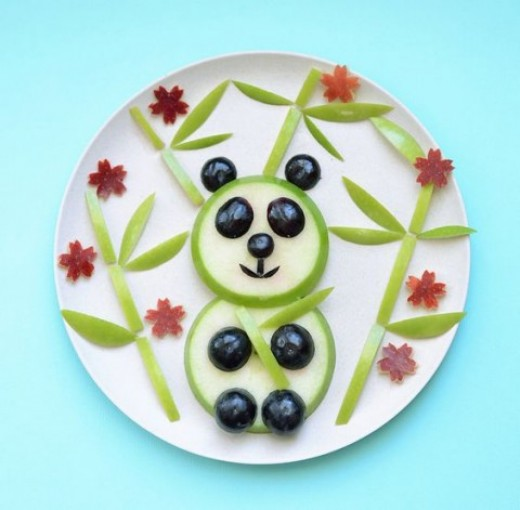 Panda I need 1 Green Apple, black currant and a little marshmallows to the extreme Panda love.