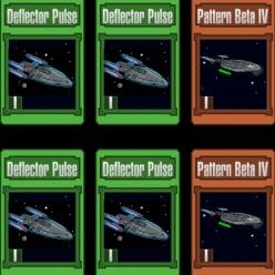 Star Trek Trexels Skirmish Defense Cards