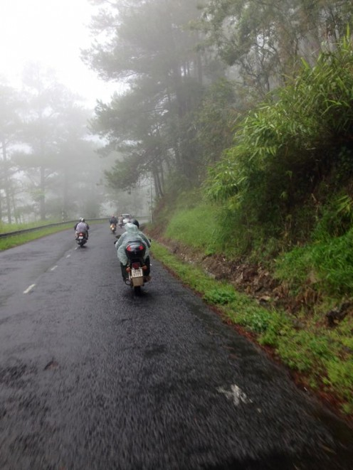 And Da Lat welcomes us with some patchy rains