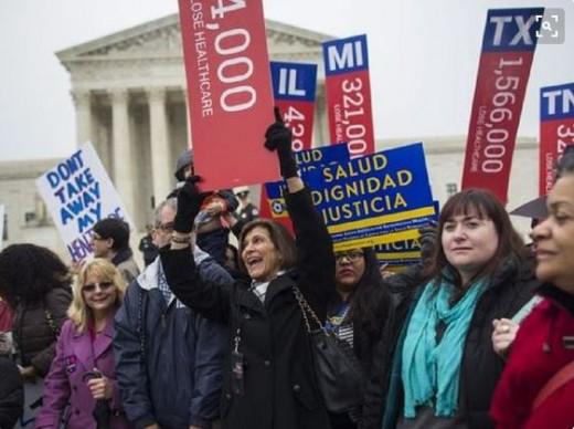 Protests in Washington (AP)
