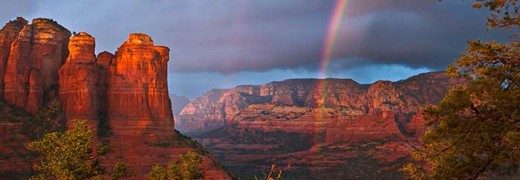 Sedona's Red Rocks - one of the world's major energy vortex sites.
