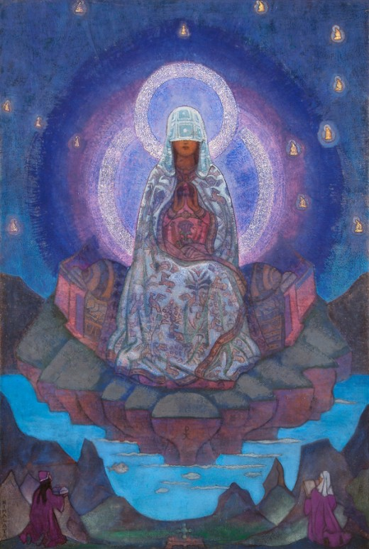 """Mother of the World"" - Nicholas Roerich (1874-1947)"