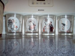 Collection of Glasses - celebrating a famous painter