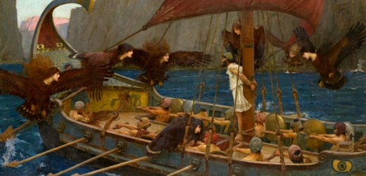 """Ulysses and the Sirens"" - John William Waterhouse (1849-1917)"
