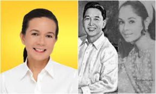 Grace (L) and her DNA connection to Ferdinand Marcos
