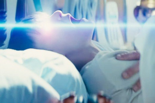 One of Alton's several light-emitting attacks that implants intense, euphoric visions into other's minds.