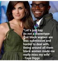 Black Men and White Women