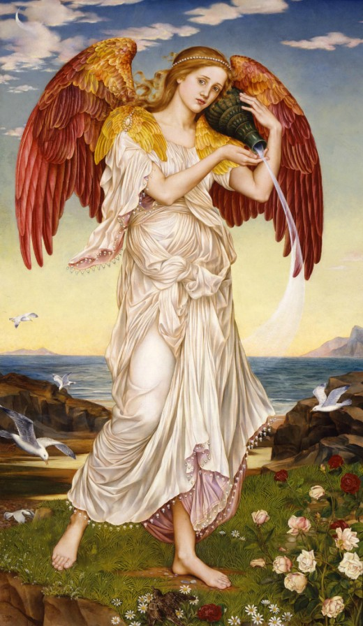 """Eos"" - Evelyn de Morgan (1855-1919)"