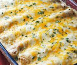 Easy and Delicious Chicken Enchiladas