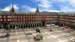 Madrid: The Plaza Mayor.  Breathtaking and the place to roam and enjoy night life too