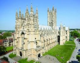 Canterbury Cathedral, once seen, not forgotten despite entrance price!